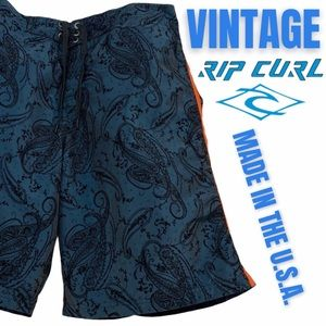 Vintage Rip Curl Board Shorts Made in the USA